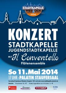 Konzert 2014 Stadtkapelle Wiesloch