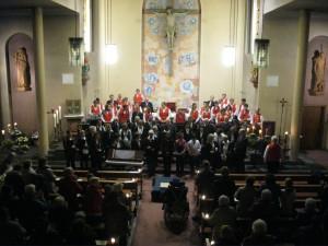 Adventskonzert 2011 in der kath. Kirche St. Wendelin in Unter-Flockenbach