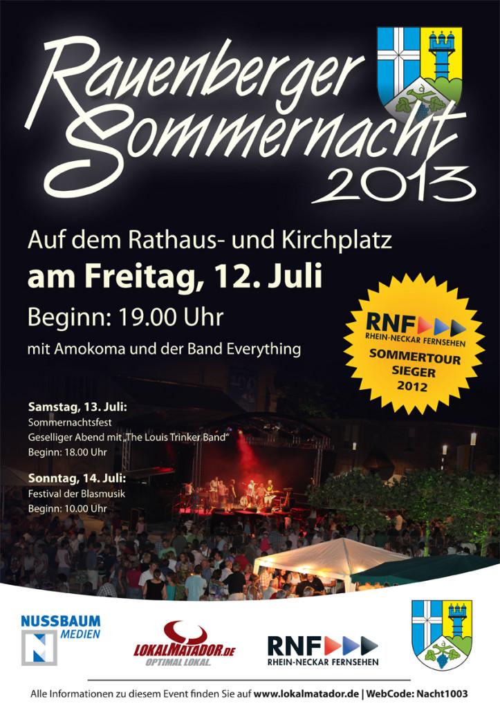 Rauenberger Sommernacht