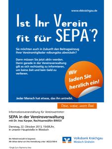 SEPA-Einladungen-Gemeinden
