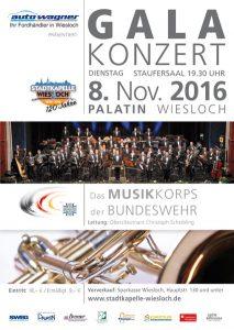 Galakonzert Musikkorps der Bundeswehr 2016