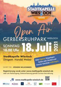 SKW Open Air im Gerbersruhpark Wiesloch