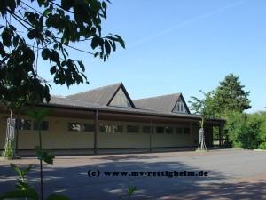 Eingang zur Turn & Festhalle Rettigheim